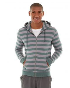 Ajax Full-Zip Sweatshirt -XL-Green