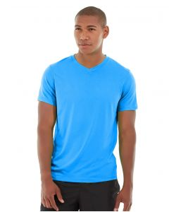 Atomic Endurance Running Tee (V-neck)-L-Blue