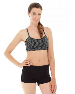 Lucia Cross-Fit Bra -M-Black