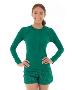Hera Pullover Hoodie-L-Green