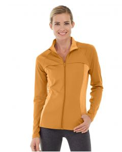 Inez Full Zip Jacket-M-Orange