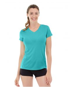 Gabrielle Micro Sleeve Top-XS-Blue