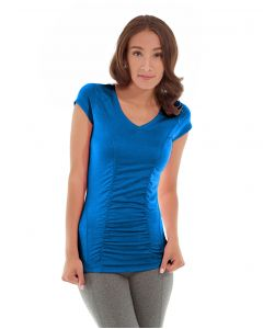 Iris Workout Top-XS-Blue