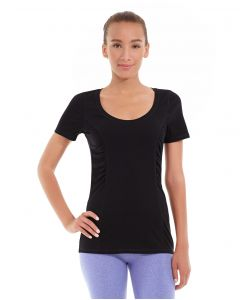 Juliana Short-Sleeve Tee-S-Black