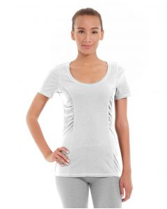 Juliana Short-Sleeve Tee-L-White