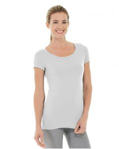 Tiffany Fitness Tee-L-White