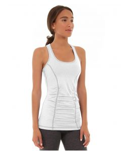 Leah Yoga Top-L-White