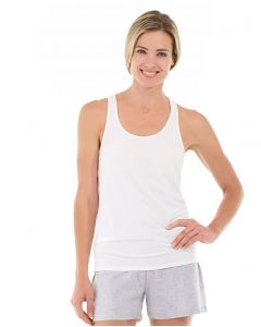 Breathe-Easy Tank-L-White